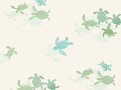 Tiny Turtles Wallcovering
