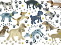 Walkies Wall Stickers