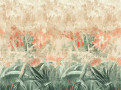 Hothouse Wall Mural Hibiscus