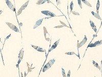 Hana Trail Wallcovering Indigo