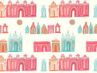 Pink City Wallcovering