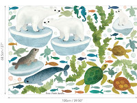 Ocean Antics Wall Stickers Abbildung 3