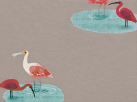 Amazon River Wallcovering