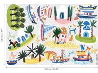 Island Hopping Wall Stickers Image 3