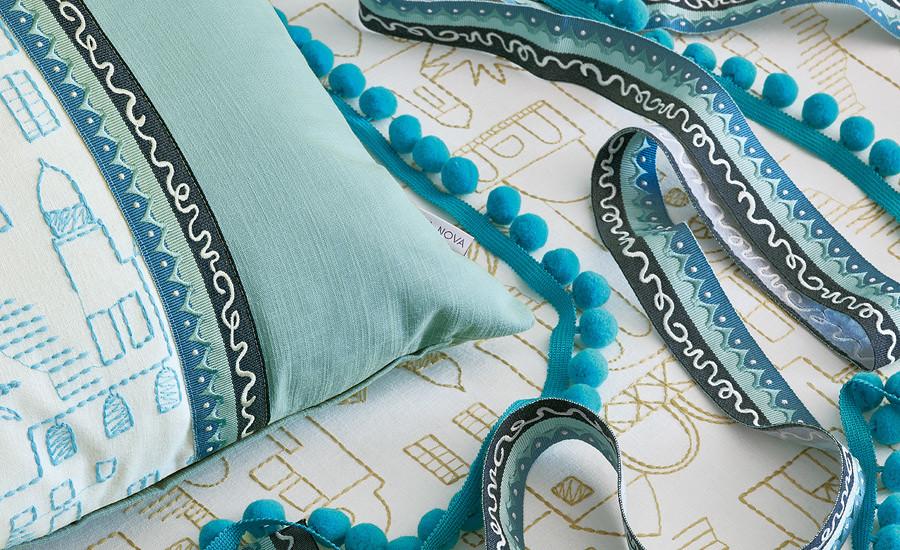 Teeny Santorini Cushion