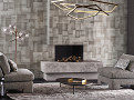Colby Wallcovering Graphite 1