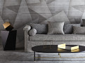 Deveraux Wallcovering Graphite 2