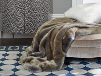 Blue Fox Throw 2 Image 2