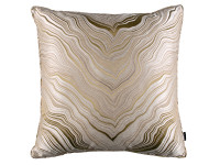 MARBLEOUS 50CM PIPED CUSHION Caramel Image 2