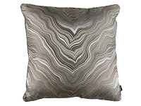 MARBLEOUS 50CM PIPED CUSHION Khaki Image 2