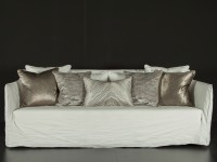Marbleous Cushion - Linen Image 4