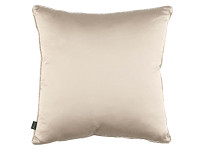 MARBLEOUS 50CM PIPED CUSHION Linen Image 3