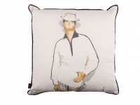 L'Homme Mysterieux Cushions - Poser Image 2