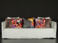 Tallulah Cushion - Cantaloupe Image 4