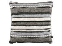Poncho Stripe 50cm Cushion Mineral Image 2