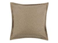 Tor Reversible 50cm x 50cm Cushion Buff/ Linen Image 2