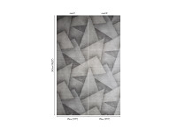 Deveraux Wallcovering Graphite Image 3