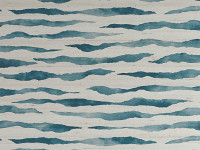 Abercrombie Wallcovering Teal